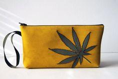 marijuana clutch bag