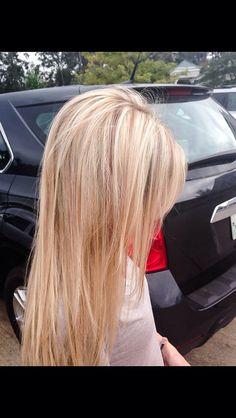 Blonde with Warm lowlights