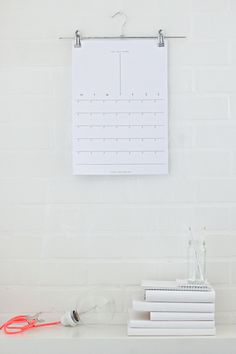 i-love-aesthetics:    Home Made Calendar titled GET SHIT DONE  You can download it from my blog