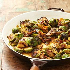 Soy- and Chile-Glazed Brussels Sprouts