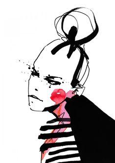 Cecilia Lundgren Ilustrations   Trendland: Fashion Blog
