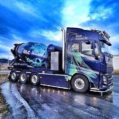 What a beauty! All Truck, Truck Art, Big Rig Trucks, Customised Trucks, Custom Trucks, Volvo Trucks, Chevy Trucks, Driving Jobs, Big Tractors