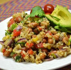 Amazing Mexican Quinoa Salad