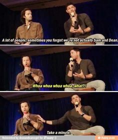 if jared doesn't believe it, neither do i. Supernatural