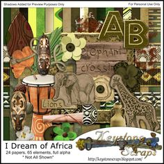 ks idoa I dream of africa