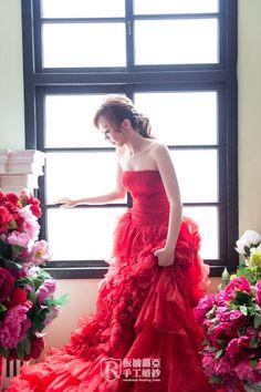 PB0376 板橋蘿亞手工婚紗 Royal handmade wedding dress 婚紗攝影 量身訂做 訂製禮服 單租禮服
