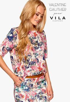 Floral Tops, Women, Fashion, Moda, Top Flowers, Fasion, Fashion Illustrations, Fashion Models