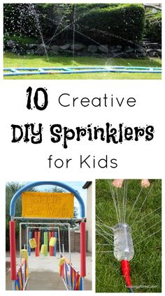 DIY Sprinklers for Kids
