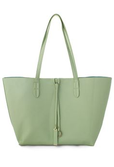 Twinset Tote Bag in Mint