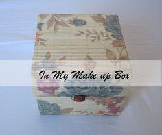 In My Make Up Box Makeup Box, Makeup Tips, Nail Care, Makeup Looks, Decorative Boxes, Make Up, Blog, Mac Makeup Box, Makeup Box Case