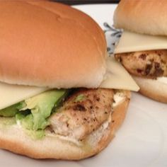 Summer Chicken Burgers - Allrecipes.com