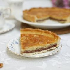 Traditional bakewell tart @ allrecipes.co.uk || Make this British favourite for a timeless treat!