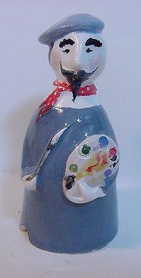 2012 Stuart Bass Pie Bird Funnel Vent * French Artist/Painter