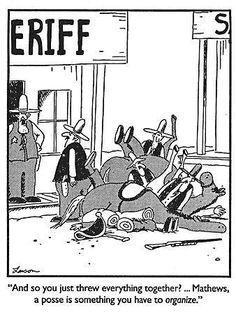"""The Far Side"" by Gary Larson. The Far Side Gallery, Gary Larson Cartoons, Far Side Cartoons, Far Side Comics, Cartoon Jokes, Funny Cartoons, Farm Cartoon, Cartoon Art, Haha Funny"