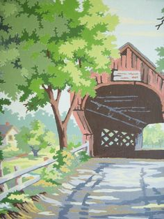 PBN - Who doesn't like a Covered Bridge?