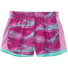 Danskin Now Girls' Running Short, Multicolor