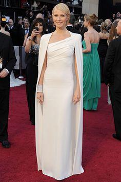 Love this white Oscar look on Gwyneth.