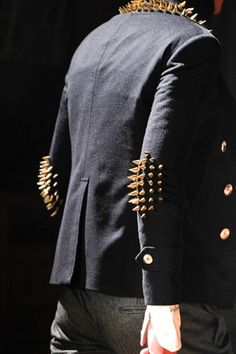 It's all about the studs #studded #jacket #mensfashion