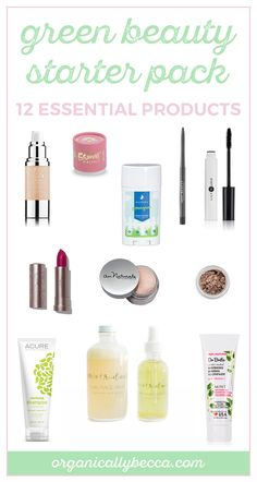 Organic health and beauty products