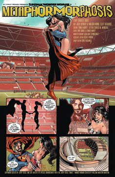 Superman/Wonder Woman - Comics by comiXology Wonder Woman Comic, Superman Wonder Woman, Comics Online, Dc Comics, Super Hero Couples, Marvel, Batman Vs Superman, Comic Page, Comic Strips