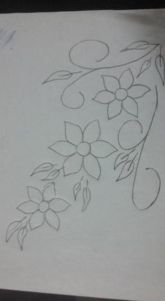 Border Embroidery Designs, Embroidery Suits Design, Applique Designs, Embroidery Patterns, Beaded Jewelry Patterns, Lace Patterns, Beading Patterns, Flower Patterns, Hand Embroidery Flowers