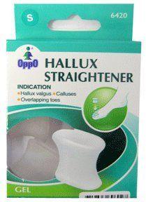 Oppo Toe Separator,hallux Straighteners Gel,large-2pk by Oppo. $5.10. Oppo Toe Separator,Hallux Straighteners Gel,Large-2Pk. Oppo Toe Separator,Hallux Straighteners Gel,Large
