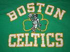 For Sale - Vintage NBA Starter BOSTON CELTICS Basketball Old School Green Print Shirt - Lg