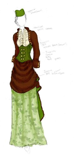 Victorian Style Wedding Outfit- The Chosen One by ~angerbunnie on deviantART