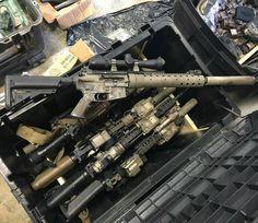 from @oda_photos - Range day #specialforces #GreenBerets #sf #sof #spr #mk12 #suppressor #guns #range #shooting #usarmy #Regrann