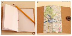Assim ou Assado: Caderno personalizado: costurado a mão e com capa de caixa de cereais