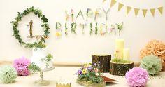 6組の1歳ベビー&ママの合同パーティー。男の子も女の子もいるのでどちらでもOKなボ… One Year Birthday, Picnic Birthday, Half Birthday, 1st Birthday Photos, Girl First Birthday, 1st Birthday Decorations, Birthday Photography, Party In A Box, 1st Birthdays