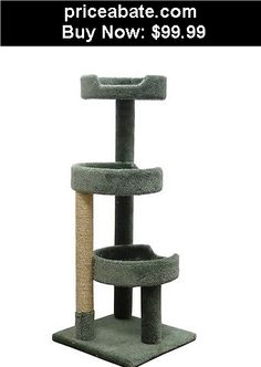 Animals-Cats: Cat Tree Furniture House Post Condo Pet Play Scratcher Toy Kitten Tower Green - BUY IT NOW ONLY $99.99