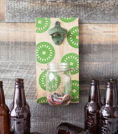 Make A Lucky Bottle Opener