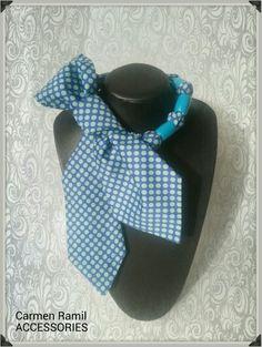 Collar corbata de Carmen Ramil