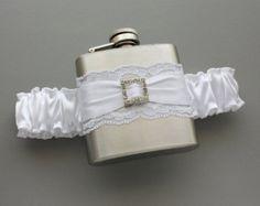 bridal garter flask – Etsy