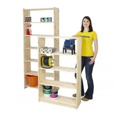 Value Pine Bookcases Pine Bookcase, Ladder Bookcase, Bookcases, Kids Storage, Storage Shelves, Locker Storage, Storage Ideas, Office Shelving, Office Storage