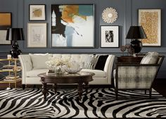 <p>Ornate designs and intricate cutouts are what draw the eye to these tabletop gallery pieces. Three different heights and silhouettes give the globally-inspired art geometric significance. Made of d