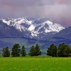 Beartooth range, Montana