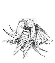 bird drawings | Drawings from Pinkarol Pinkarol - Love Birds – Lovelipops