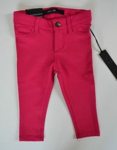 BNWT Authentic Baby Joe's Jeans Ultra Slim Fit Jeggings Pants Hot Pink 18 Months | eBay