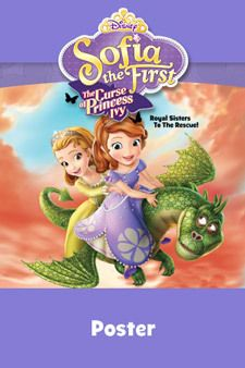 Sofia the First - The Curse of Princess Ivy - Activity - Poster