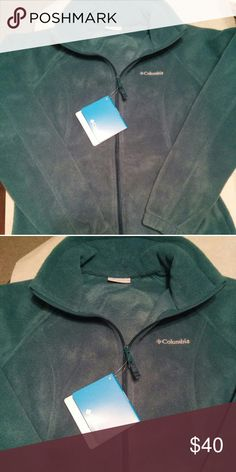 Fleece Columbia Beautiful terqouise Columbia fleece zip up Columbia Jackets & Coats