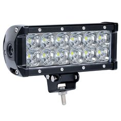 Nilight 7.5 Inch 36W Spot LED Light Bar Super Bright Driving Lamp, 2 Years Warranty