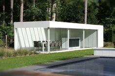 Aluminium Poolhouse