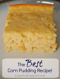 This corn pudding recipe was passed down to me from my mom. It seriously is the sweetest and best corn pudding recipe you will ever try!  I used to beg her to make it when I was a kid.  Now I try to avoid making it too much for myself so that I can still […]