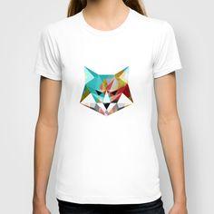 Fox T-shirt  #polygons #polygon #lowpoly #geometry #geometric #design #art #digital #fox #animal #unisex #womensfashion #fashionista #fashionable #tshirts #colorful #polygoonfox #polygonanimals