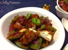 Cookingwithsapana: Chilly Paneer