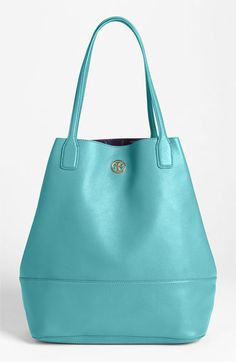 Tory Burch 'Michelle Angelux' Leather Tote available at Nordstrom