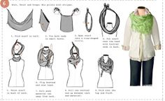 It's Written on the Wall: 6 Fabulous Ways To Tie A Scarf-Step-by-Step Photos