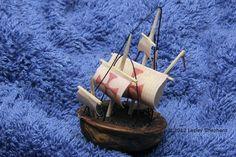 Make Miniature Boats or a Walnut Navy From Walnut Shells: Make a Walnut Shell Model of the Santa Maria